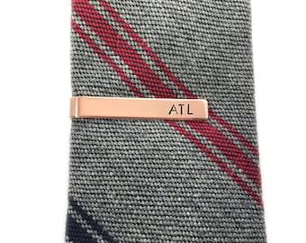 Easter gifts for him etsy easter gifts for him custom tie clip mens personalized monogram tie bar negle Images
