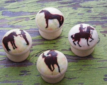 "Decorator Knobs for the Equestrian @ Heart. A Cute Way to Accessorize Your Dresser Drawers & Cabinet Doors. Available in 1.5"", 1.25"" and 1"""