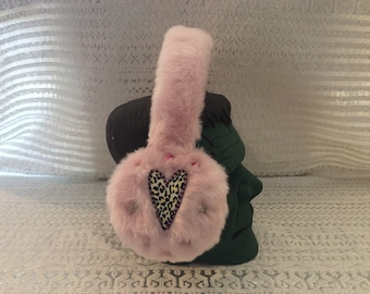 "Chic Winter Earmuffs ""Wild Heart"""