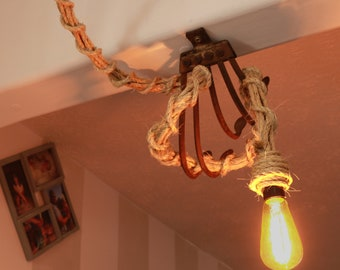 Reclaimed Farm Tool Light