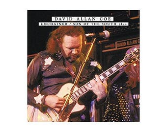 David Allan Coe UNCHAINED CD / sound of the south most