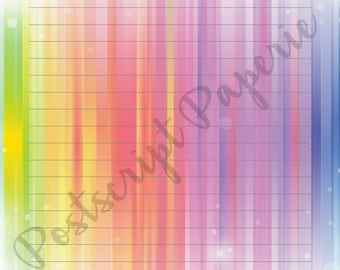 Rainbow Burst - A5 Stationery - Writing Paper