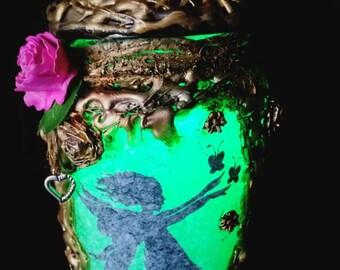 Beautiful Fairy in a Jar