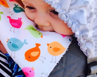 Chew Pads, Teething Pads, Drool Pads, Suck Pads, Ergo Accessories, Baby Wearing, Baby Carrier Pads, Soft Structure Carrier