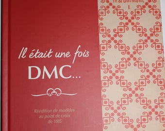 """Book""""once upon a time DMC... models of 1885 cross stitch"""