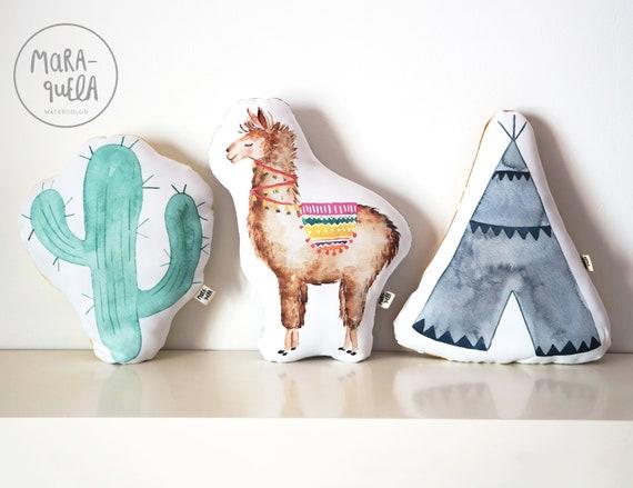 SET 3 Cojines, Tema indio/ CUSHIONS SET, american native style