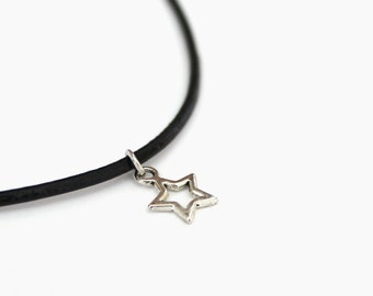 Star necklace, choker