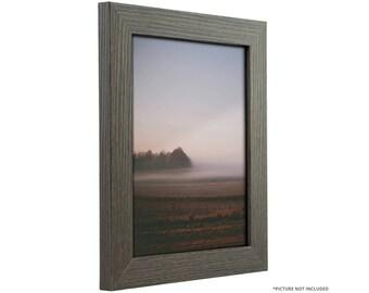 "Craig Frames, 5x7 Inch Melinga Gray Oak Picture Frame, Bauhaus 1.25"" Wide (766569550507)"