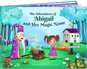 1st Birthday Gift - A Fun Personalised Story Book - Perfect for Children Aged 0-8 Years - A Life Long Keepsake Gift - NEXT DAY DISPATCH