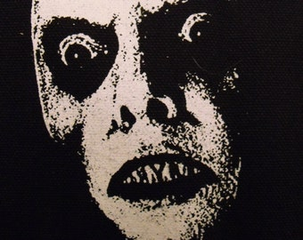 CAPTAIN HOWDY the exorcist demon face patch horror  movie Free Shipping