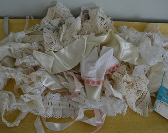 Vintage LOT of Assorted Lace