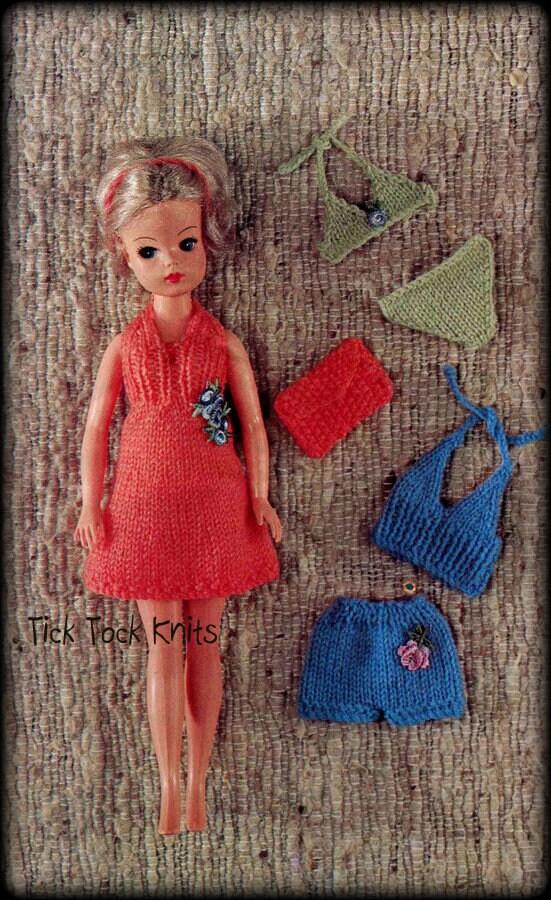 No622 Doll Clothes Knitting Pattern Pdf Vintage 11