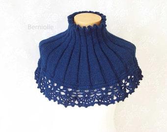 ANNIKO, knitting & crochet cowl pattern pdf