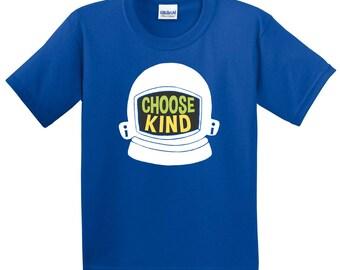Choose Kind Kids' Shirt - Helmet