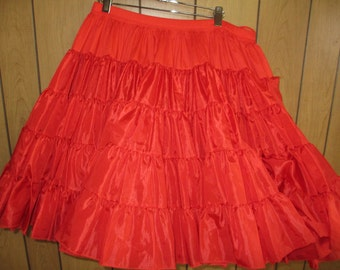 Vintage Retro Tutu Cancan Petticoat