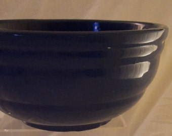 "Vintage American Yellow-ware Ceramic Ringware 10"" Mixung Bowl"