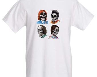 Phab Four: Phish skull T-Shirt