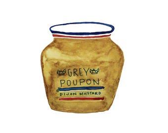 Grey Poupon Print