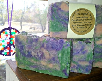 The Hippie Soap - Patcouli Hand Made Artisan Soap Bar