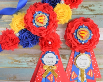 Superman Baby Shower | Etsy