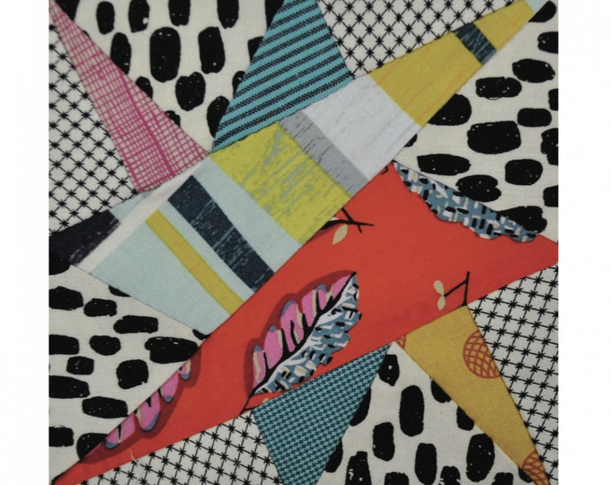 Black Cockatoo - Tempter by Jen Kingwell - Templates