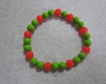 Green & Orange Bracelet
