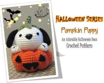 Halloween Pumpkin Puppy (PDF Pattern)