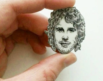 Josh Groban/ Grobanites/Pin/Illustrated Pin