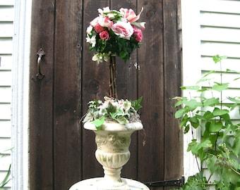 Rose Topiary Floral Arrangement