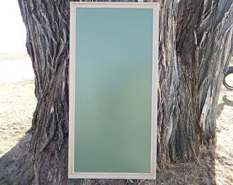 SET Magnetic Dry Erase Chalk Marker Board Gold and  White Vintage Style Frame - LARGE Magnetic Board - Magnetic  Board Set