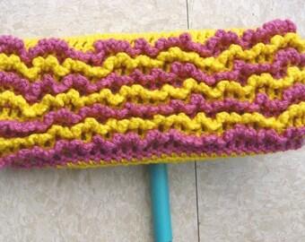 Yellow Swiffer Cloth - Yellow Floor Dusting Cloth - Pink Swiffer Cloth - Pink Floor Dusting Cloth - Reusable Swiffer - Washable Swiffer