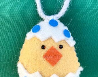 Felt Easter ornaments felt Easter decoration  Easter egg ornament  holiday accessory felt décor READY FOR SHIPPING