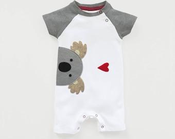 Organic Baby Koala Baseball Playsuit : Organic Baby Shower, Koala Baby Shower