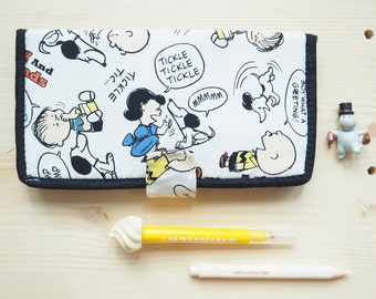 Snoopy  fabric Wallet