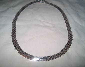 Vintage Fine Jewelry Sterling Silver Necklace, 925, Milor, Made in Italy