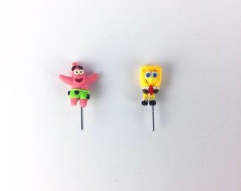 Spongebob Terrarium Accessories // Figurine // Miniature