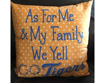 Detroit Tigers Throw Pillow