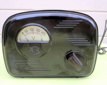 SALE!! 1950s Bakelite Spanish Televisor Variac Elvedor Reduo Modelo 1001. Early Television. Collectible.