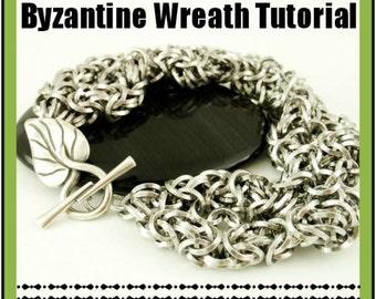 Byzantine Wreath Bracelet - Downloadable PDF Tutorial