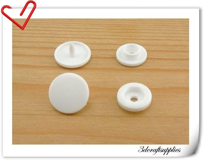Dritz Snap Fasteners Tape Plastic Snaps White 12 Yards