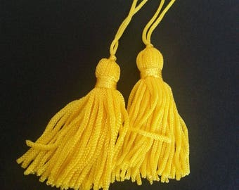 colored silk tassel