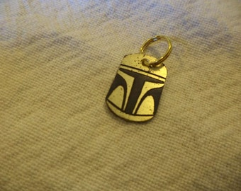 Star Wars inspired Brass Charm
