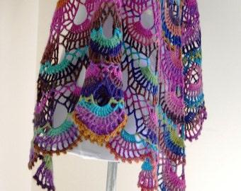 Nova Shawl ~ PDF Crochet Pattern