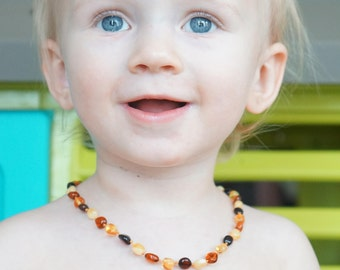 Baltic amber,  Baby amber, Knotted necklace, Baby amber bracelet,  Teething, Amber Teething Adult, Amber necklace, Baby necklace