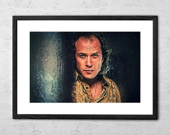 Buffalo Bill - Silence of the Lambs - Illustration - Silence of the Lambs Art Print - Silence of the Lambs Poster - Movie Poster - Horror