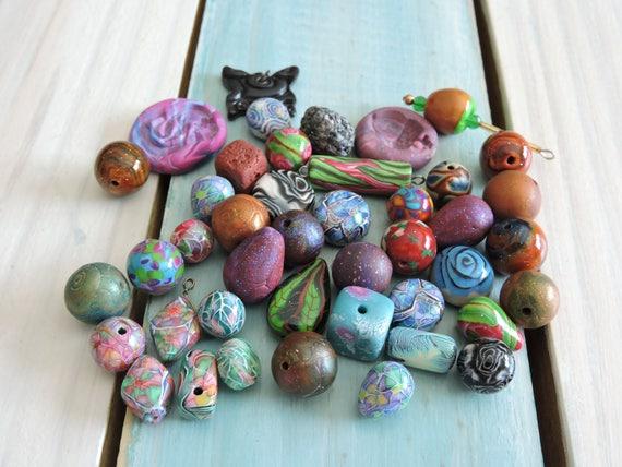 43 Piece Mixed Bead Lot # 4