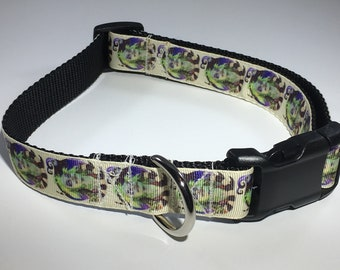 "Beetlejuice 1"" Large Dog Collar"