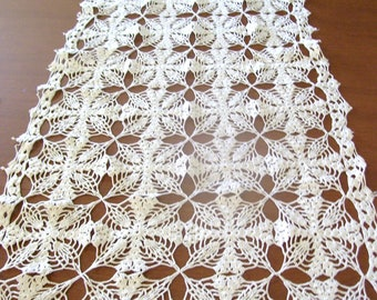 MARKED DOWN!!!!Lot of Eight Crochet Doilies Etc