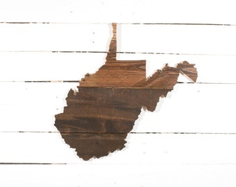 West Virginia Pallet Wall Art