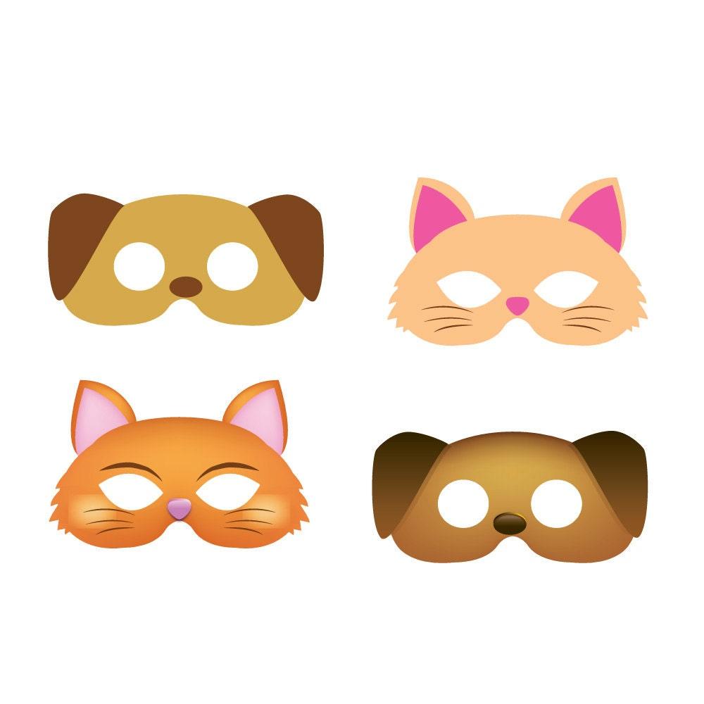Cat And Dog Masks